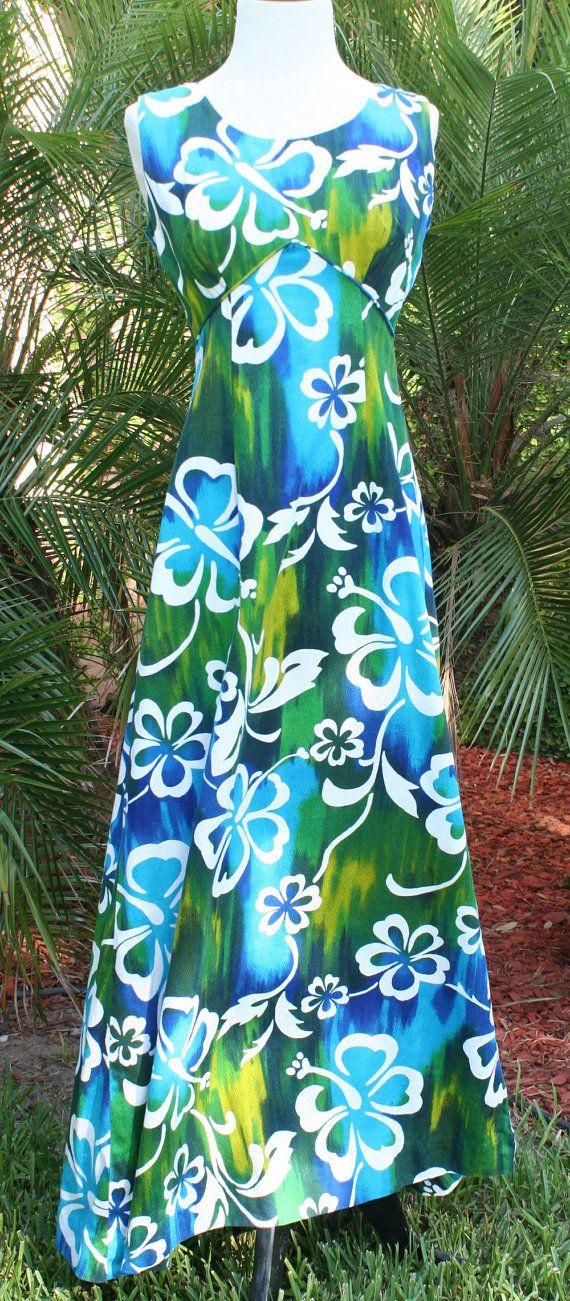 Long Sleeve Empire Waist Maxi Dress