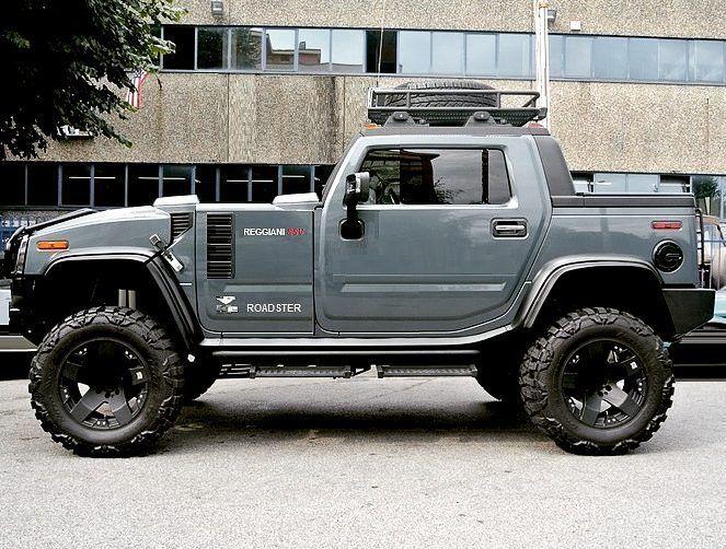 Hummer H2 Roadster Reggianissv Hummer H2 Hummer Cars Jeep Pickup Truck