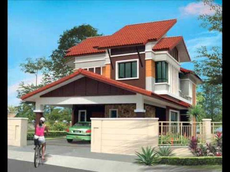 Pelan Rumah Banglo 2 Tingkat Modern