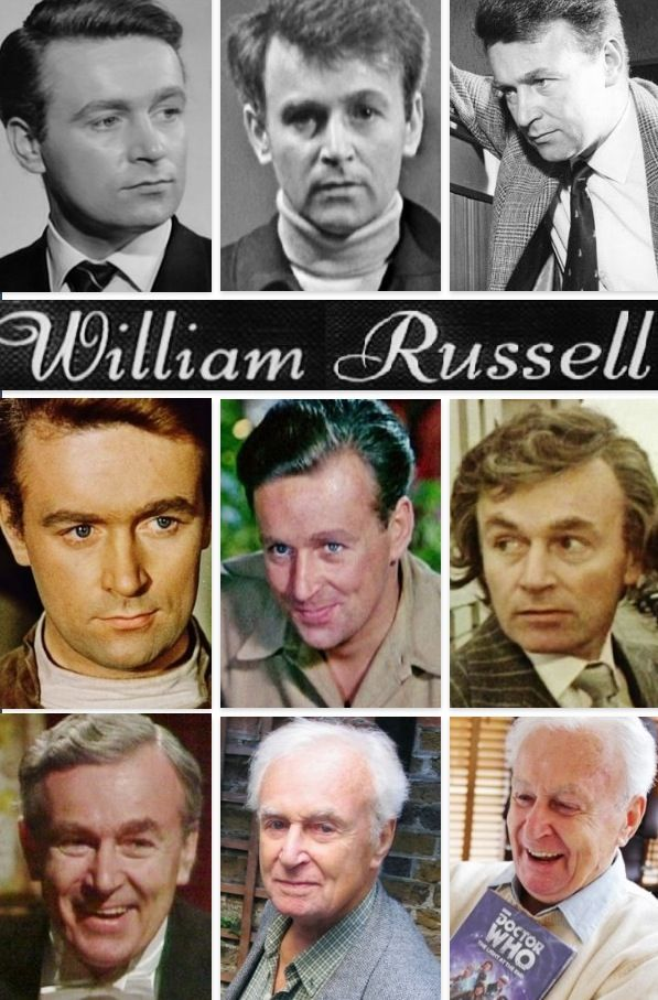 William Russell - one of the companions for the First Doctor in Doctor Who - 1963.  He played as Ian Chesterton.