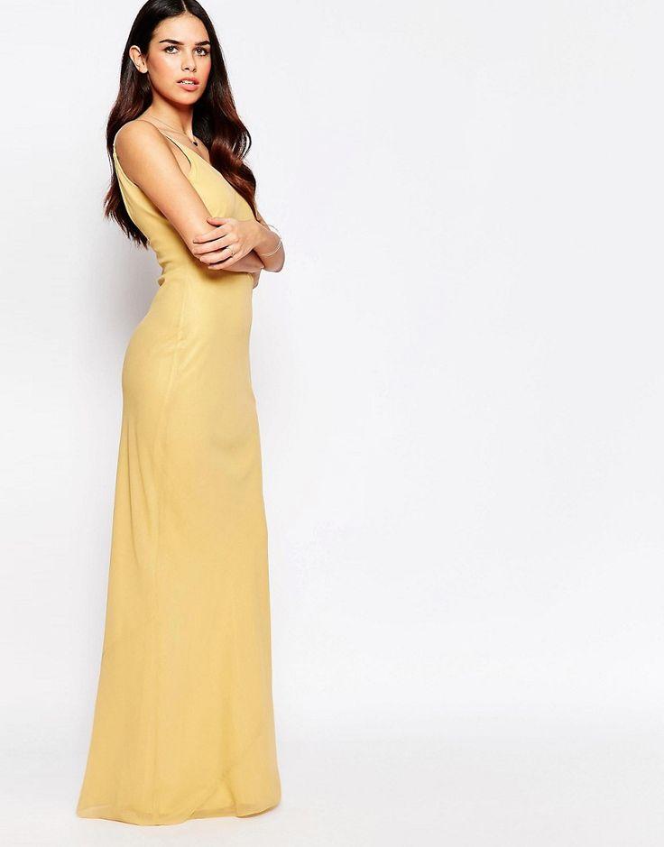 Image 1 ofVLabel River Slinky Maxi Dress