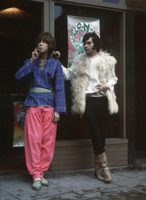 Outside the Hung On You Boutique, London, summer 1967.