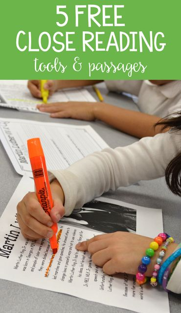 I am always looking for resources and ideas to teach close reading to my first and second graders! Here are 5 of my favorite activities, tools, and close reading passages! Oh, and they are all FREE!
