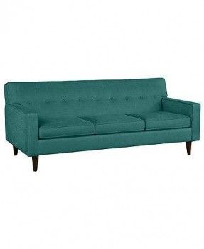 Middle Class Modern: Super Affordable Button Back Mid Century Sofas - The Clare Fabric Sofa from Macy's