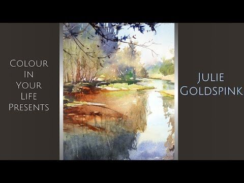 How to Paint Watercolour Seascapes with Julie Goldspink - YouTube