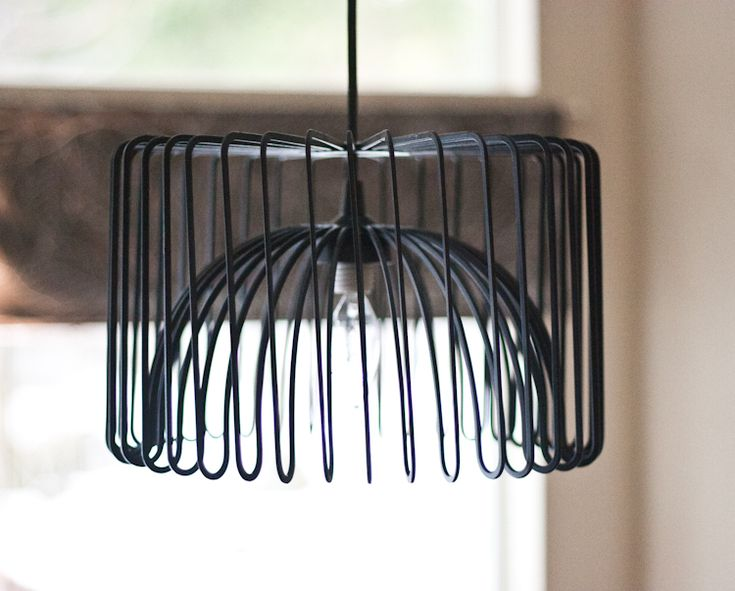 Make a chandelier from the IKEA Tradig bowl. Seriously. Make it now.