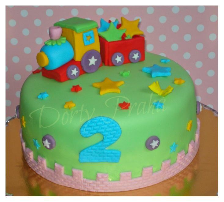 Výsledek obrázku pro dort vláček