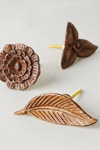 Wooden Flora Knob