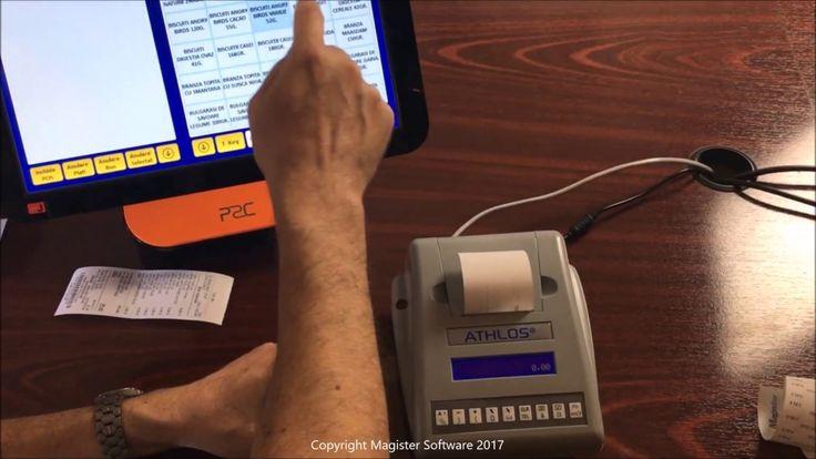 Cum se utilizează aplicația #software pentru #retail SmartCash POS împreună cu imprimanta fiscală Athlos V-WS? Vă invităm să aflați din acest #tutorial #video! Pentru comenzi, vă rugăm să ne contactați la telefon 031.821.01.50 sau e-mail sales@magister.ro.