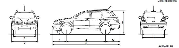 Mitsubishi outlander 2011 Release date - Mitsubishi outlander 2004 Workshop Manual