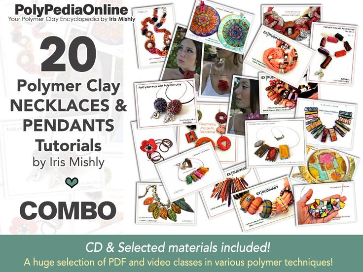 Polymer clay tutorial COMBOS now offered at 60% OFF! VIDEO INCLUDED! http://etsy.me/2CjTR9b  #polymerclaytutorial #polymerclay #polymerclayjewelry #polymerclaybeads #supplies #beading #polymerclay #polymertutorial #pdftutorial #videotutorial #polymerjewelry #diyjewelry
