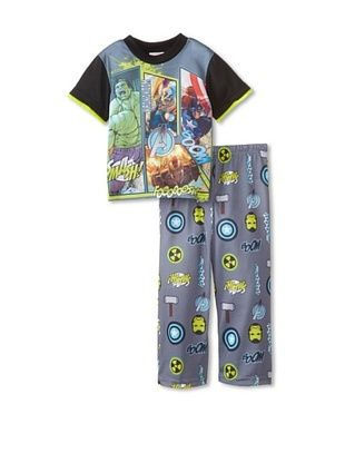 56% OFF Kid's Avengers 2-Piece Pajama Set (Grey)