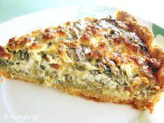 Kitchen Stori.es: Τάρτα με Σπανάκι και Φέτα