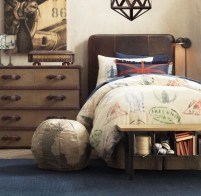 London Paris Bedding For Boys Crib