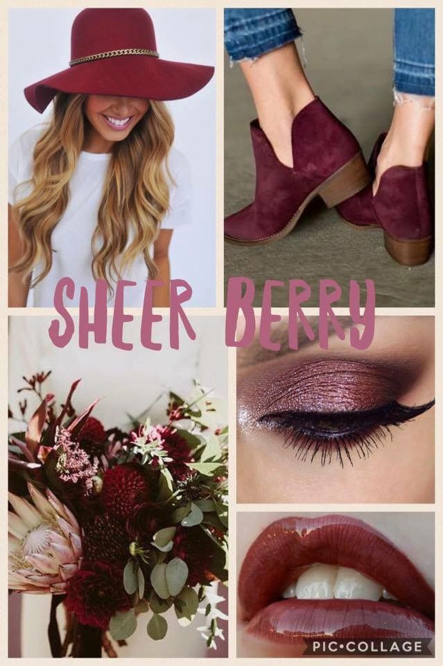 SHEER BERRY. LipSense Distributor ID 351172. Email: prettypoutyperfection@gmail.com. FB Group: Pretty Pouty Perfection.