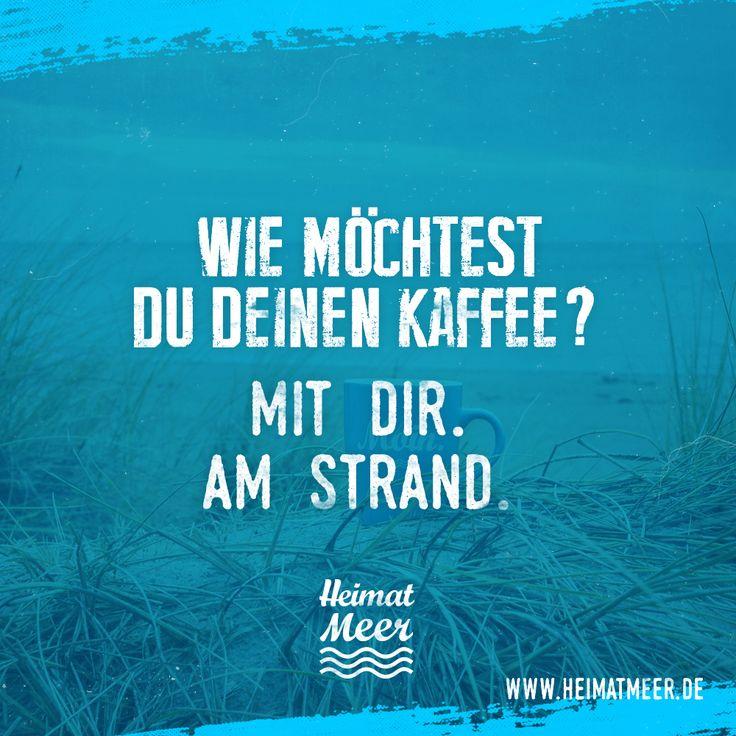 Kaffee am Strand? Moin Tasse gibt es hier >>