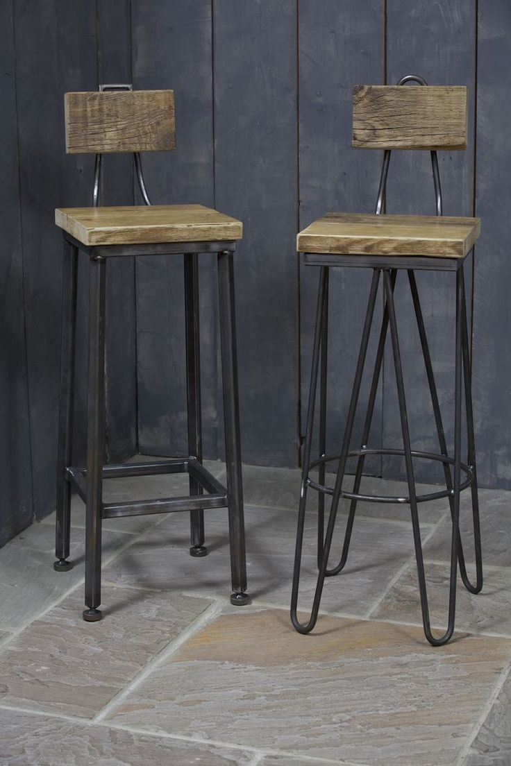 Hairpin Stool And Straight Leg Stools Made In Our Workshop