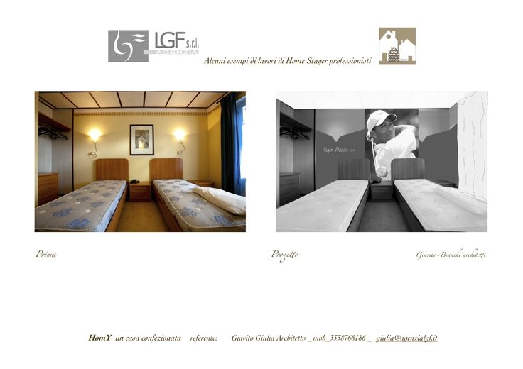 un albergo con mini campo da golf? Ogni camera dedicata ad un BIG! di Giulia Giavito Architetto Home Stager