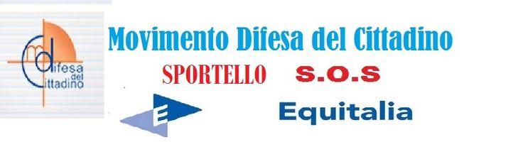 Sportello SOS Equitalia(Link) MOVIMENTO DI DIFESA DEL CITTADINO VIA CALVISIO 110A-FINALE LIGURE-tel:3775202415