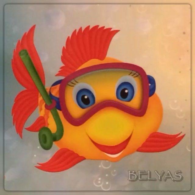 Золотую рыбку всем на счастье в этот воскресный день!  #золотаярыбка #belyas #рыбакам