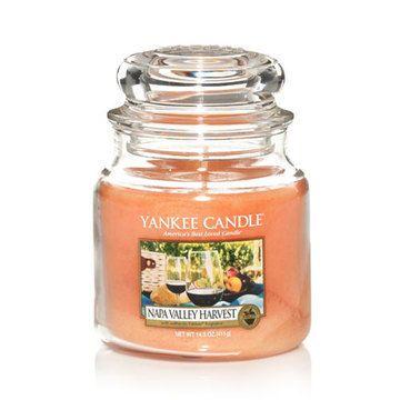 Napa Valley Harvest Medium Jar Candle Yankee