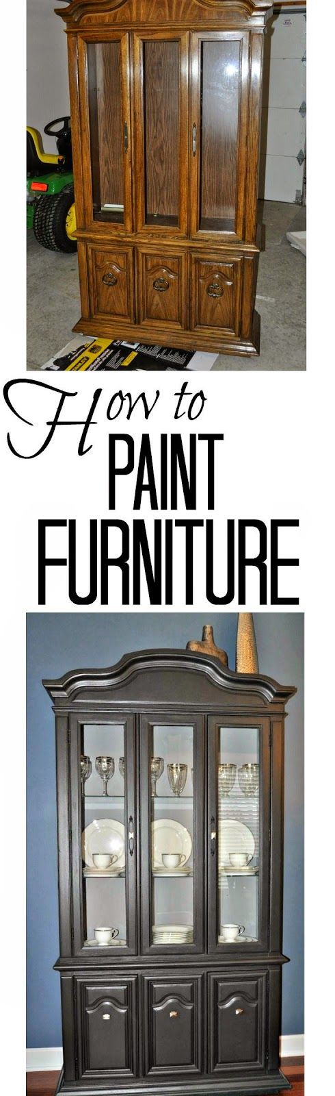 Best DIY Projects: How to Paint Furniture. Great tips for those outdated pieces!