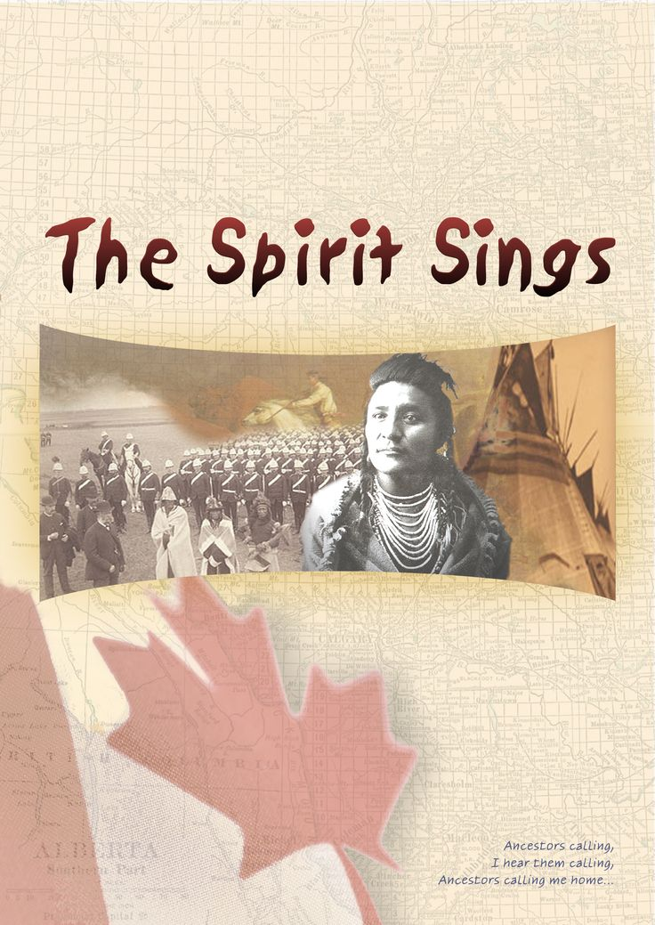 """Brochure """"The Spirit Sings"""" theatre production"""