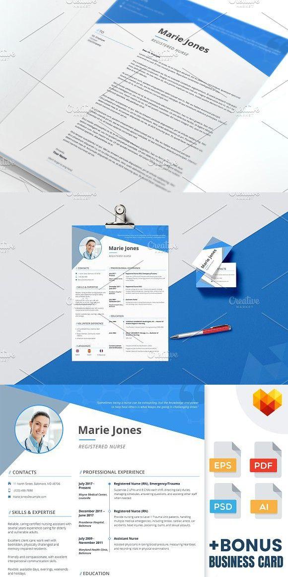 Nurse Resume - PSD, AI, EPS, PDF Perfect Resume Perfect Resume