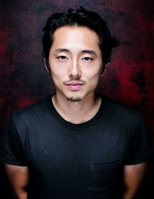 "celebritiesandmovies: "" ""Steven Yeun 