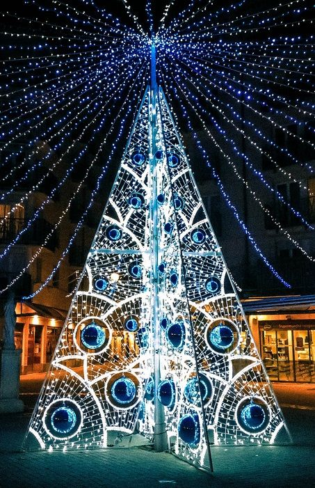 Christmas tree, Montrouge, France