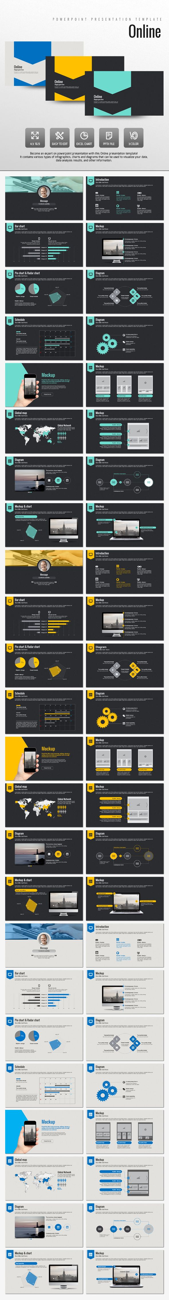 Online PowerPoint Presentation Template #design #slides Download: http://graphicriver.net/item/online/14000926?ref=ksioks
