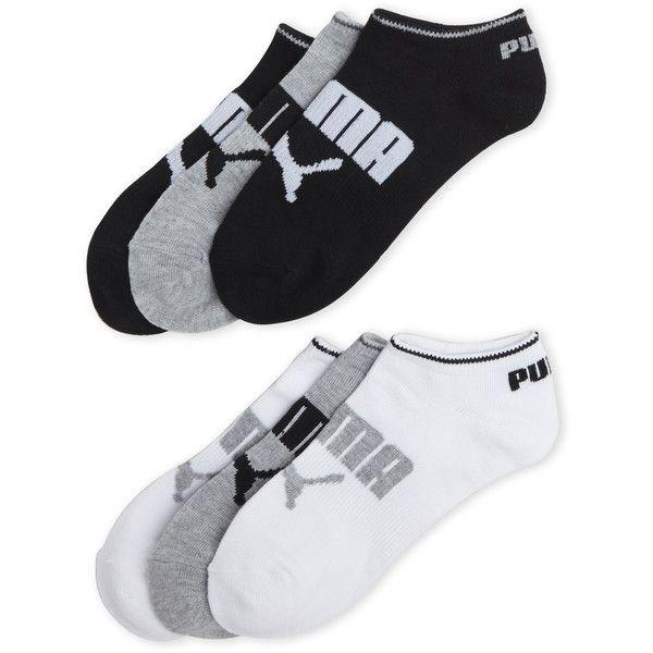 Puma 6-Pack Non-Terry No-Show Sport Socks (€7,