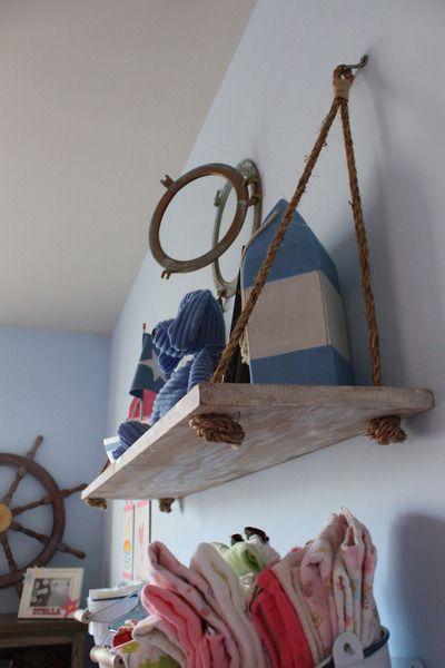 Nautical nursery detail