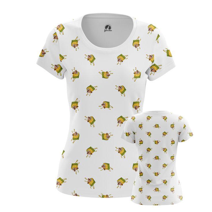 nice Girls T-shirt Primitive Sponge Internet Humor Sponge Bob Merchandise Check more at https://idolstore.net/shop/apparels/girls-t-shirt-primitive-sponge-internet-humor-sponge-bob-merchandise/