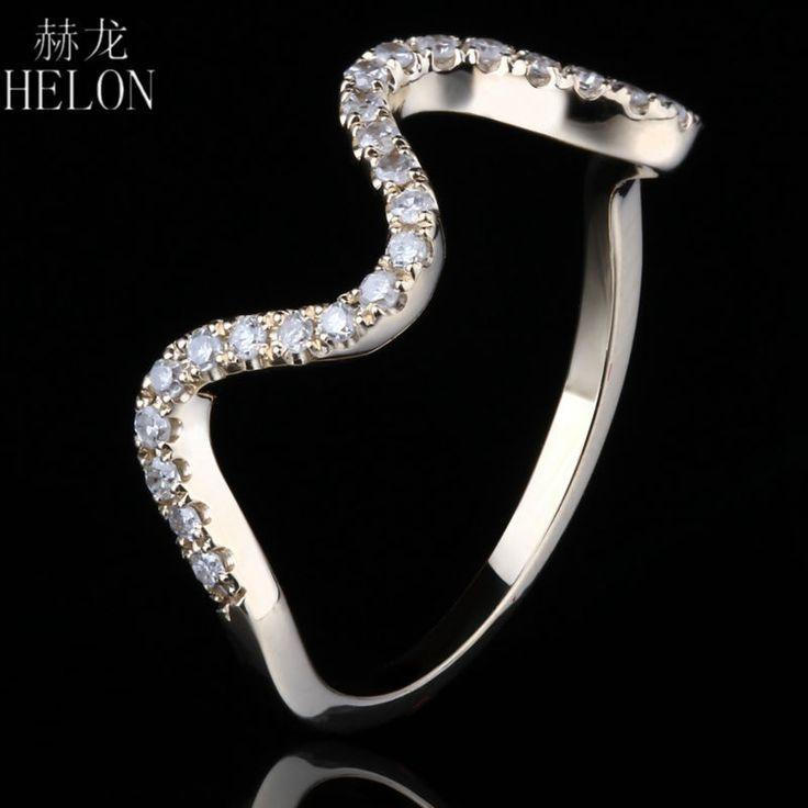 <b>Helon</b> бриллиантами Группа! Твердые 10 К желтое золото ...