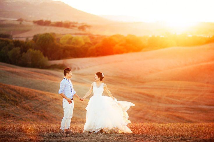 Pre-wedding in Tuscany Photographer: Evgeniya Ovsyannikova http://ovsyannikova.com