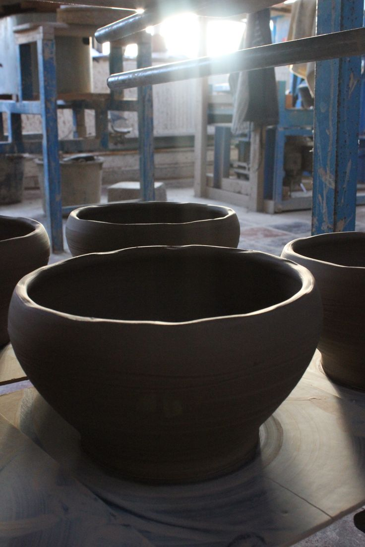 Bowls by Stephen Pearce Pottery, Shanagarry, Cork, Ireland.