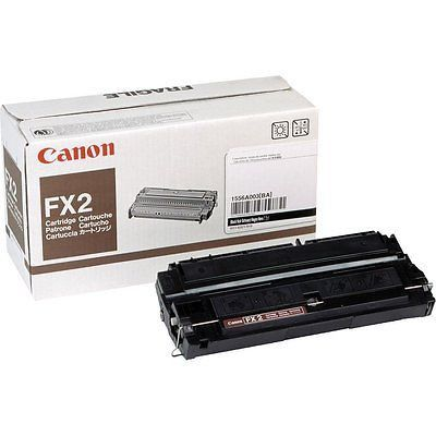 Canon Toner, Fax, Black, 4000 Page Yield FX-2