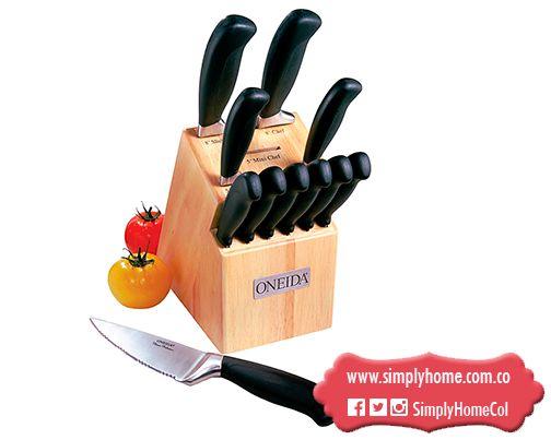 Los cuchillos ahcen al cocinero #Christmas #Gifts #Oneida #SimplyHome #SimplyHomeCol #Simply #Home #Decoracion
