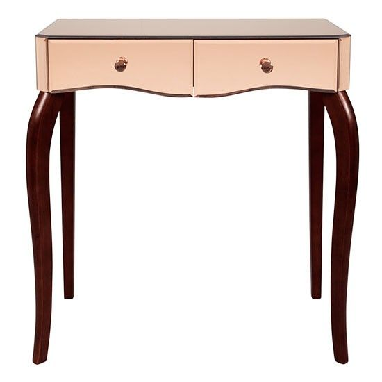 Rose gold dressing table from Laura Ashley | Rose gold micro trend ...