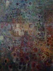 DANUTA KRAJEWSKA / Behind the veil of lance / oil on canvas / 50 x 70cm http://dankrajewska.wix.com/painting