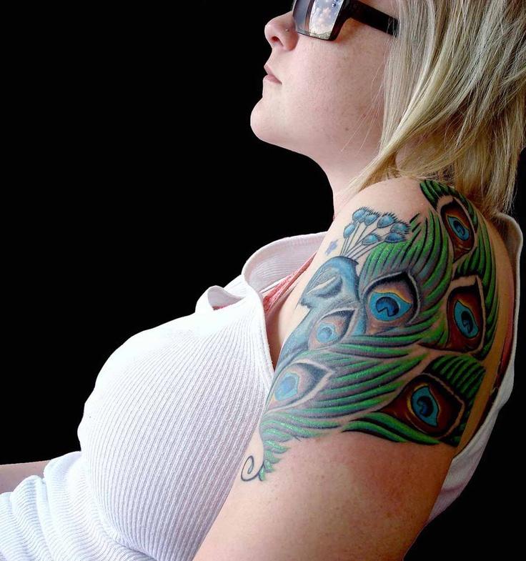 Peacock tattoo: Peacock Tattoo, Tattoo Ideas, Feathers Tattoo Design, Peacocktattoo, Tattoo Inspiration, Body Art, Peacock Feathers Tattoo, A Tattoo, Tattoo Art