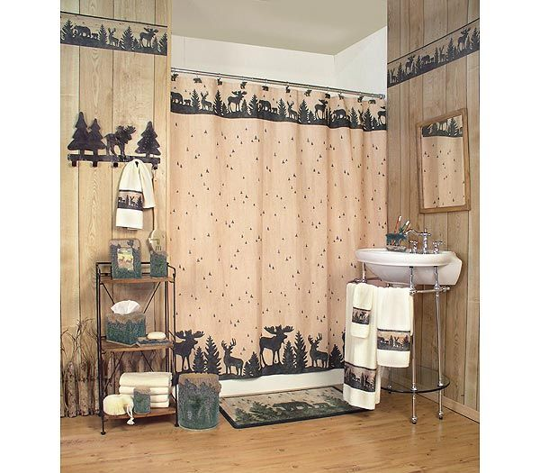 Woodland Silhouettes Bathroom Accessories   THE LOG FURNITURE STORE   Log  Beds, Log Furniture,