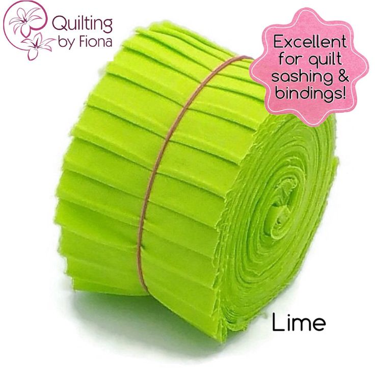 A personal favourite from my Etsy shop https://www.etsy.com/au/listing/230805407/20-lime-green-jelly-roll-precut-fabric