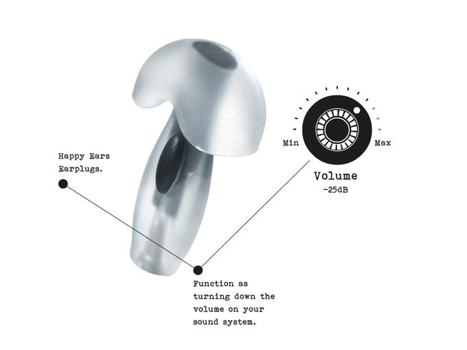 Happy Ears | The next generation earplug by Happy Ears — Kickstarter