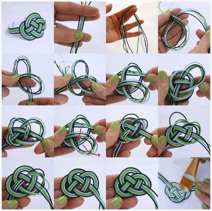 Best 25 Knot Bracelets Ideas On Pinterest Square Knot