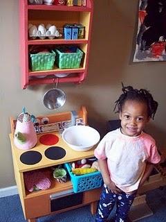 $19 DIY play kitchen