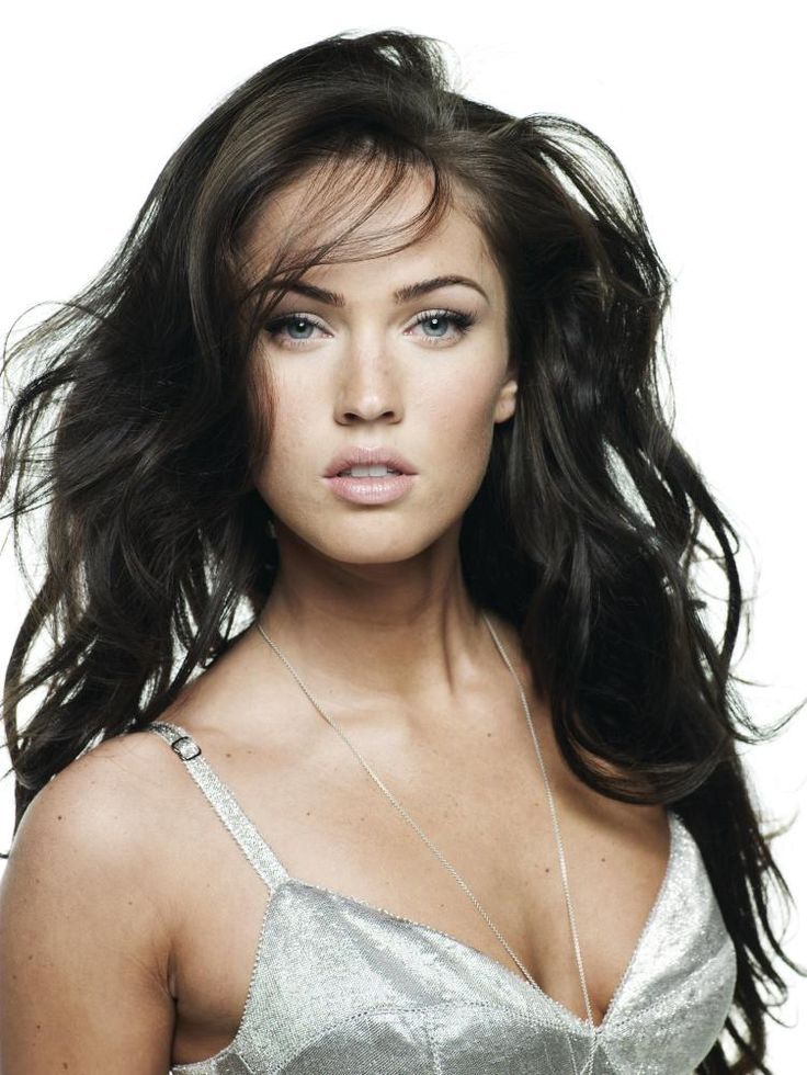 megan fox - Bing ImagesGirls, Hair Colors, Meganfox, Black Hair, Megan Foxes, Blue Eye, Makeup Looks, Soft Curls, Beautiful People