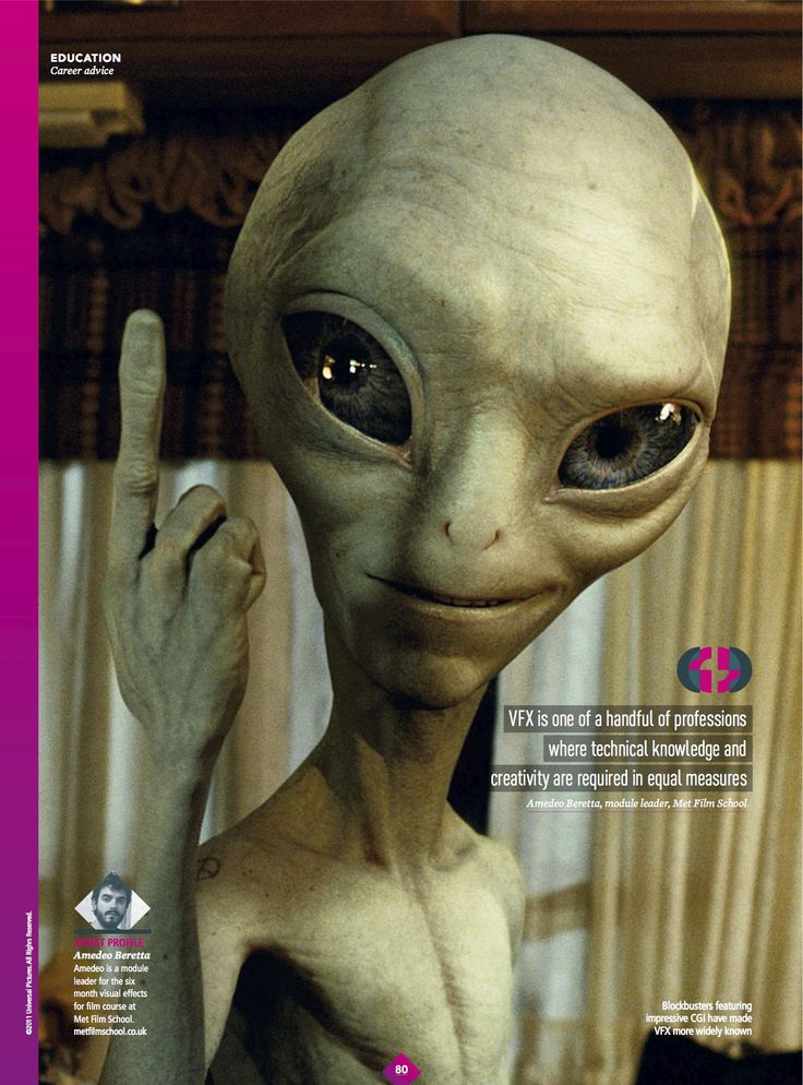 Check out the latest issue of 3DWorld which features an article on becoming a VFX artist, by Met tutor Amadeo!