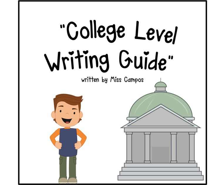 College level essay writing